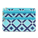 Zodaca Women Coin Purse Wallet Zipper Pouch Bag Card Holder Case - Times Square Turquoise