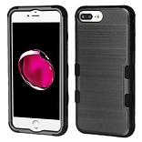 Insten Brushed TUFF Hybrid Hard PC Phone Shockproof Case Cover for Apple iPhone 7 Plus/ 8 Plus / 6s