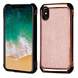 Insten Astronoot Hard Hybrid TPU Case Cover For Apple iPhone X - Rose Gold