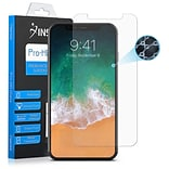 Insten Clear Nano Tech Glass Full Coverage Edge to Edge Screen Protector Guard Film for Apple iPhone
