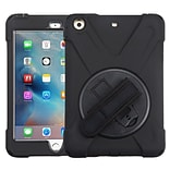 Insten Rotatable Hard Stand Protective Case Cover (with Wristband) For Apple iPad Mini 1 / 2 / 3 - B