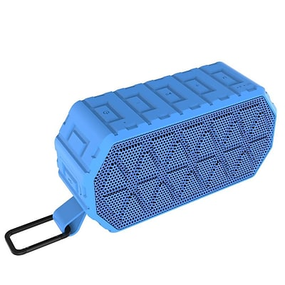 Insten Waterproof Rechargeable IPX6 Wireless Bluetooth 4.2 Outdoor Sports Speaker w/Selfie Mic for iPhone Samsung - Blue