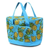 Zodaca Large Pinic Travel Outdoor Party Beach Food Drink Water Storage Camping Zip Cooler Bag - Pine