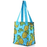 Zodaca Insulated Lunch Bag Cooler Picnic Travel Food Box Women Tote Zipper Carry Bags - Pineapple