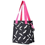 Zodaca Insulated Lunch Bag Women Tote Cooler Picnic Travel Food Box Zipper Carry Bags for Camping -