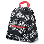 Zodaca Bright Stylish Kids Small Backpack Outdoor Shoulder School Zipper Bag Adjustable Strap - Houn