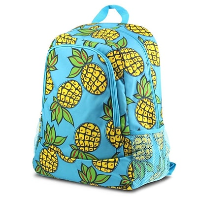 Zodaca Outdoor Camping Hiking Large Travel Sport Backpack Shoulder School Bag - Pineapple