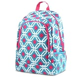 Zodaca Outdoor Camping Hiking Large Travel Sport Backpack Shoulder School Bag - Graphic Blue
