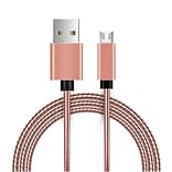Insten Innovative Metal Snake Reliable Fast Data Charging Power Micro USB Cable with Aluminum Connec