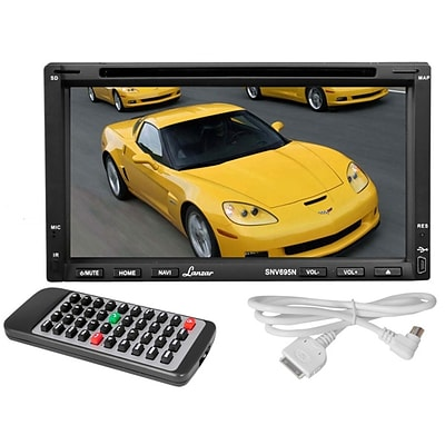 Lanzar SNV695N 6.95 Digital Wide Screen DVD/MP4/MP3/CD Player and GPS