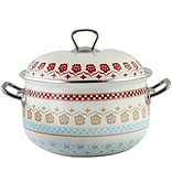 General Store Cottage Chic Enamel on Steel 12 x 12 Cassero;e Multicolor (116946.02)