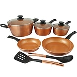 ECO-Friendly Home  Hummington Forged Aluminum 10-Piece Cookware Set, Copper (79577.10)