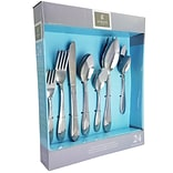 Gibson Home  83692.24 Biviere  Stainless Steel 24-Piece Flatware Set
