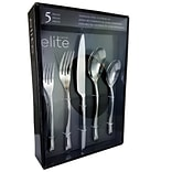Gibson Elite 116398.05 Altmore Stainless Steel 5-Piece Flatware Set