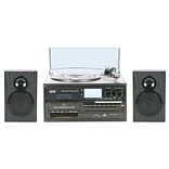 Quantum FX  Turntable with CD Player, AM/FM Radio, Cassette Player and MP3 Encoding (TURN-250)