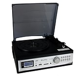 TechPlay 3-Speed Turntable Black (ODC19BT)