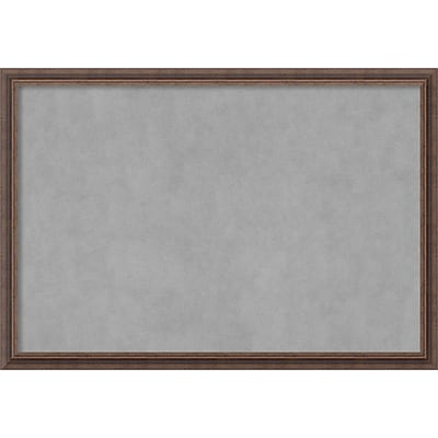 Amanti Art Framed Magnetic Board Extra Large Distressed Rustic Brown 39 x 27 Frame Brown (DSW3982843)