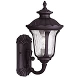 Livex Lighting 1-Light Bronze Outdoor Wall Lantern-Light (7850-07)