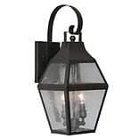 Livex Lighting 2-Light Wall Bronze Outdoor Wall Lantern (2081-07)