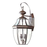 Livex Lighting 2-Light Imperial Bronze Outdoor Wall Lantern (2251-58)