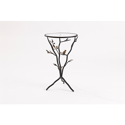 FirsTime Bird and Branches Tripod Side Table (BTGBRD)