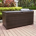 Crosley Palm Harbor Outdoor Wicker Storage Bin (CO7300-BR)