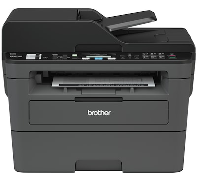 Brother MFC-L2710DW Wireless Monochrome Laser All-In-One Printer, Refurbished