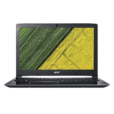 Acer® Aspire 5 A5155150RR 15.6 Notebook, LCD, Intel Core i5-7200U, 1TB HDD, 8GB, Win 10 Home, Obsidian Black