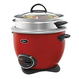 Oster® 14-Cup Rice Cooker, Red (CKSTRCMS14RNP)