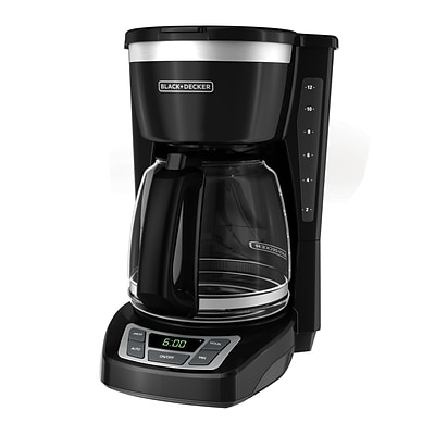 Black & Decker® CM1160 12 Cup Programmable Coffee Maker, Black