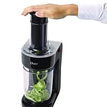 Oster® 2 Cup Electric Spiralizer, Black (FPSTES1050)