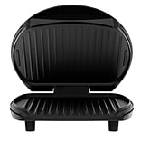 George Foreman® 6 Serving Basic Plate Electric Grill, Black (GR0103B)