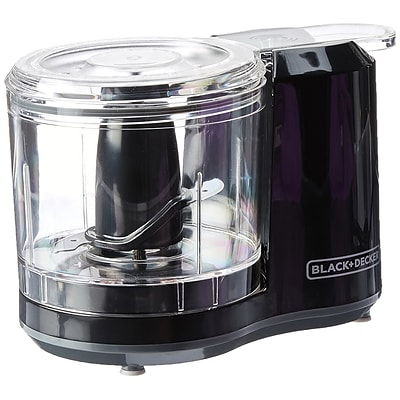 Black & Decker® 1.5 Cup Electric Food Chopper, Black (HC150B)