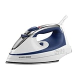 Black & Decker® SteamAdvantage® Traditional Steam Iron, Blue (IR1070S3)