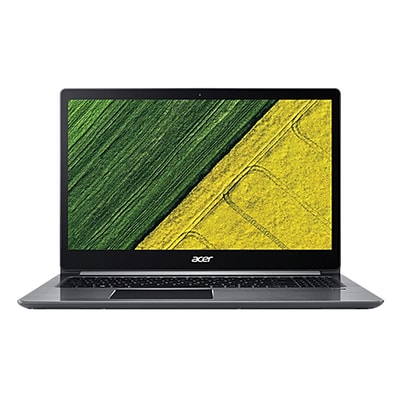 Acer® Swift 3 SF314-52-557Y 14 Notebook, LCD, Intel Core i5-7200U, 256GB SSD, 8GB, Win 10 Home, Sparkly Silver