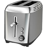 Black & Decker® 2-Slice Extra-Wide Slot Toaster, Silver (TR3510SD)