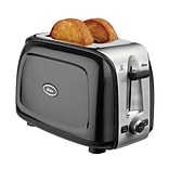Oster® 2-Slice Extra-Wide Slot Toaster, Black Metallic (TSSTTRPMB2)