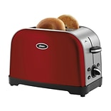 Oster® 2-Slice Extra-Wide Slot Toaster, Red Metallic (TSSTTRWF2R)