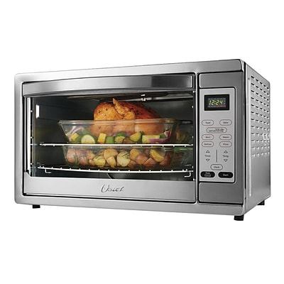 Oster Extra Large Digital Convection Countertop Oven, Brushed Stainless Steel (TSSTTVDGXL)