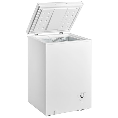 Midea® 3.5 cu.ft. Single Door Chest Freezer, White (WHS129C1)