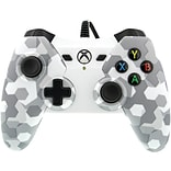 1503454-01 Wired Controller for Xbox One (Arctic White Camo) (PWR150345401)