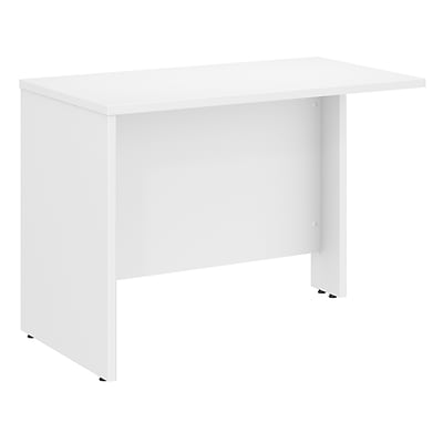 Bush Business Furniture Studio C 42W Desk Return Installed, White (SCR142WHFA)