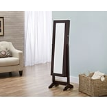 FirsTime Cheval Free Standing Jewelry Armoire, Espresso (JAFS2-ESPRESSO)
