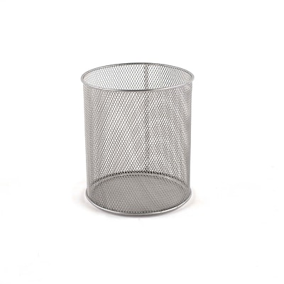 Design Ideas Mesh Pencil Cup, Silver (34109)