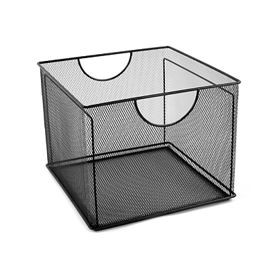 Design Ideas Mesh File Box, Black (342794)