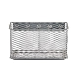 Design Ideas Mesh MagNet Bin, Extra Large, Silver (351339)