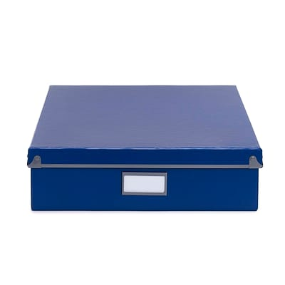 Design Ideas Frisco Document Box, Navy (3060543)