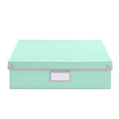 Design Ideas Frisco Document Box, Mint (3060642)