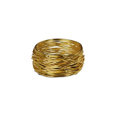 Design Ideas Wire WoundUp Doodad Cup, Brass (3100701)