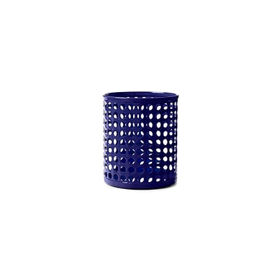 Design Ideas Steel Edison Pencil Cup, Navy (3434803)